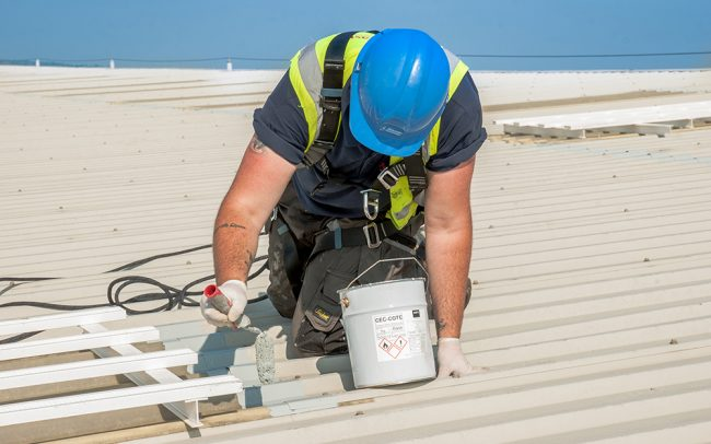 Commercial roof CEC cote