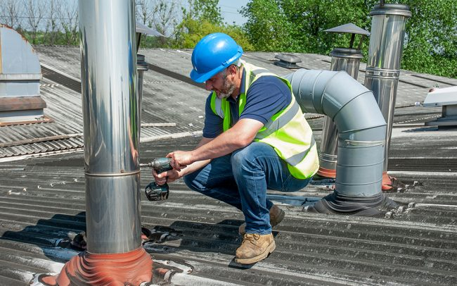 Flue repairs and maintenance