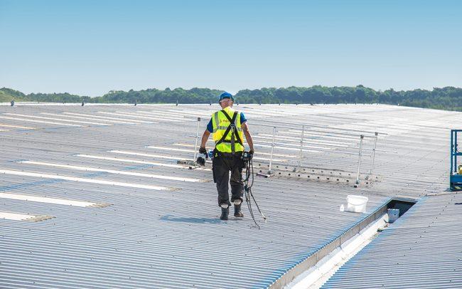 Roof light inspection