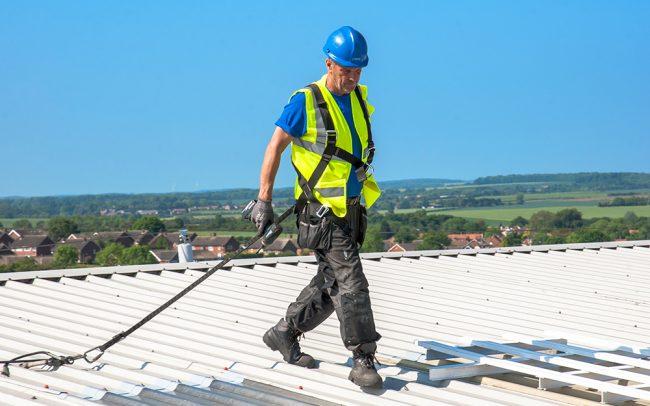 Roof light scheduled maintenance