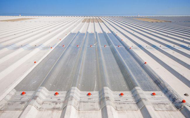 Complete roof light repair
